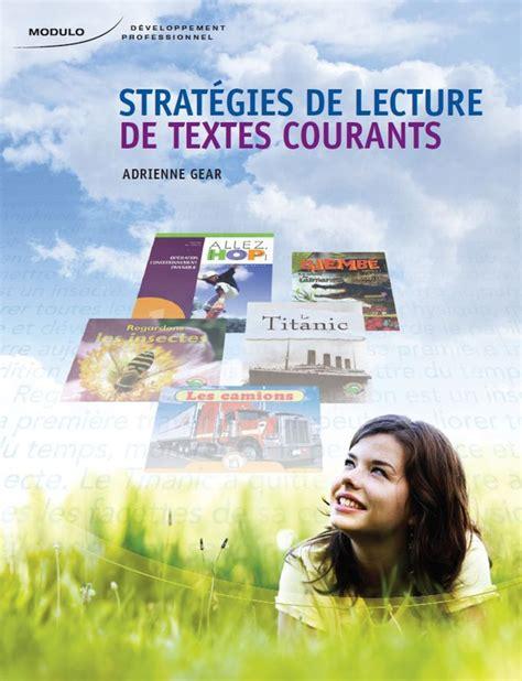 livre cuisine v馮騁arienne strat 233 gies de lectures de textes courants livre