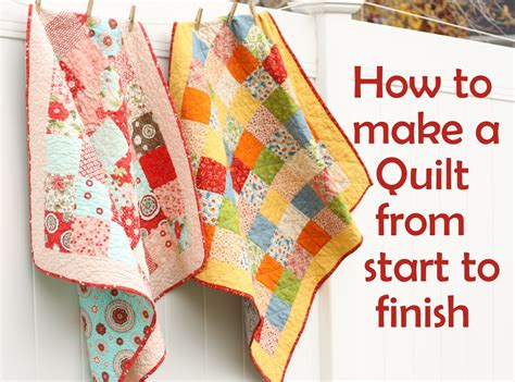 How To Make A Simple Patchwork Quilt - easy quarter drawstring bag tutorial u create