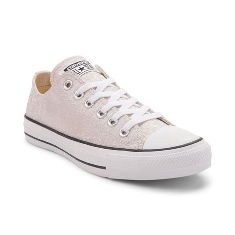 Coverse Womens womens converse chuck all lo glitter sneaker