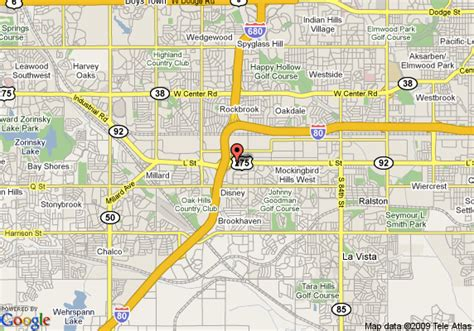 directions to lincoln ne map of hawthorn suites omaha omaha