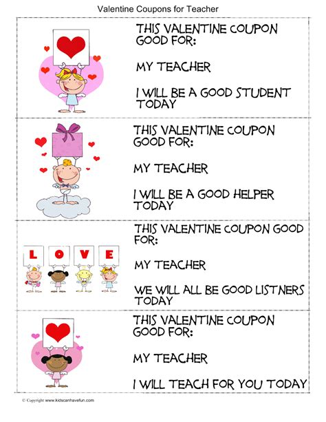 valentines card greetings for teachers s day archives kidscanhavefun