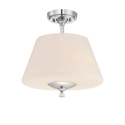 home depot interior lights designers fountain lusso 2 light chrome interior semi