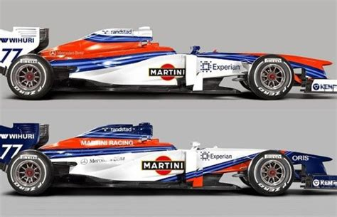 Williams Livery F1 2014 Martini Racing