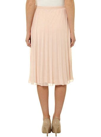 blush mesh pleated midi skirt mcclellan