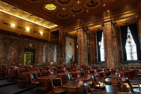 Louisiana State Capitol Pencil In Ceiling by Pencil Stuck In The Ceiling Of The Senate Chambers