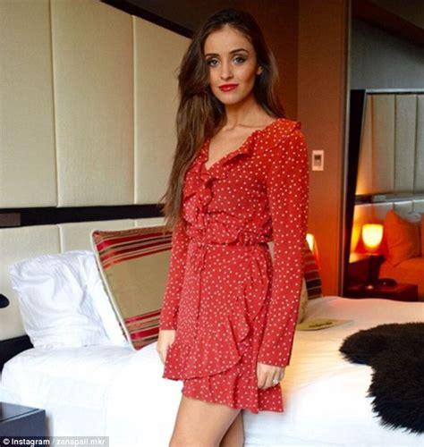 Kitchen Designer Sydney Mkr Star Zana Pali Wears Leggy Red Dress After Sharing