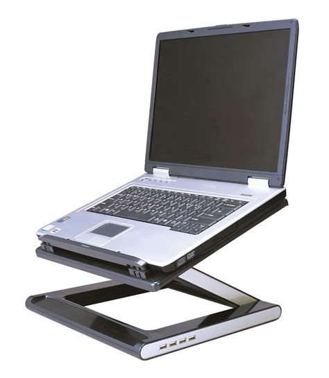 Defianz Desk Stand Ergonomic Height And Angle Adjustable Laptop Platform For Desk