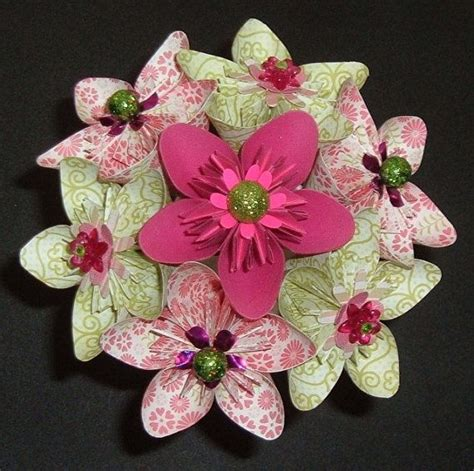 Origami Flower Stems - origami kusudama new 321 origami kusudama stem