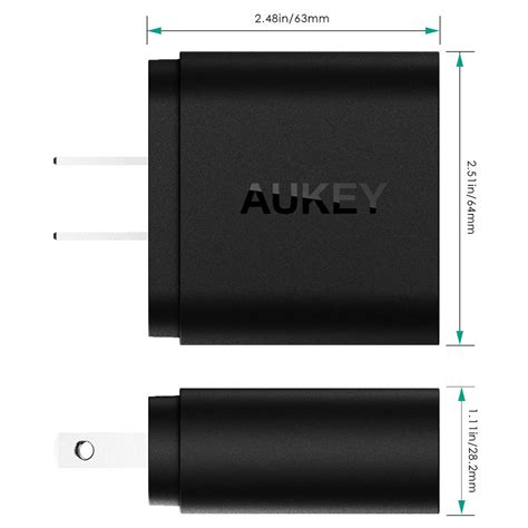 Mg Aukey Usb Car Charger 2 Port 36w With Qualcomm Charge 2 0 M aukey charger usb 2 port eu 36w dengan qc 2 0