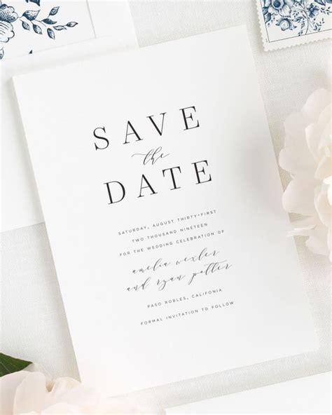 wedding save the date text exles modern script save the date cards save the date cards by shine