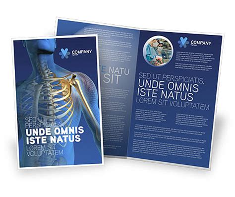 asthma brochure template pulmonology brochure template design and layout