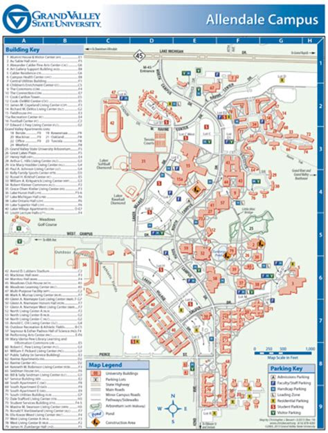 gvsu map christopher j bessert portfolio cus maps