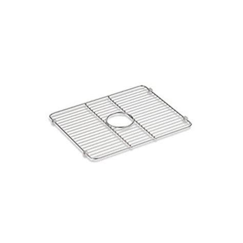 kohler smart divide sink stainless steel kohler k 5137 st iron tones smart divide large sink rack