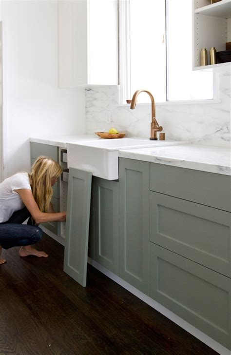 ikea kitchen cabinet colors ikea upgrade the semihandmade kitchen remodel remodelista
