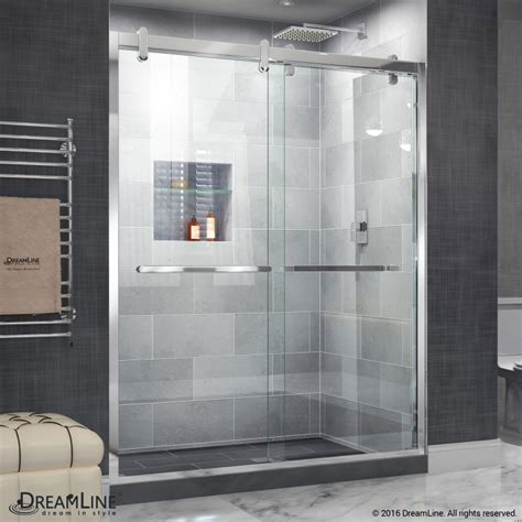 Shower Glass Sliding Doors Cavalier Sliding Shower Door Dreamline