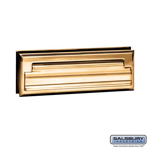Mail Slots For Doors by Salsbury Industries 4035b Mail Slot Standard Letter Size