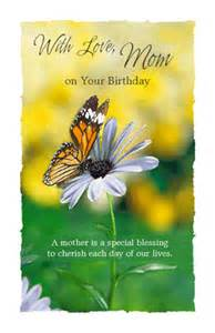 mother is a blessing greeting card happy birthday