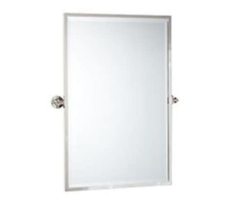 kensington pivot mirror extra large wide rectangle satin allen roth 30 in x 40 in silver beveled rectangle framed