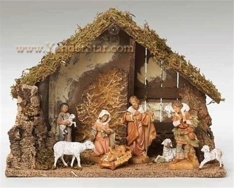 5 quot fontanini 8 pc nativity scene 54483