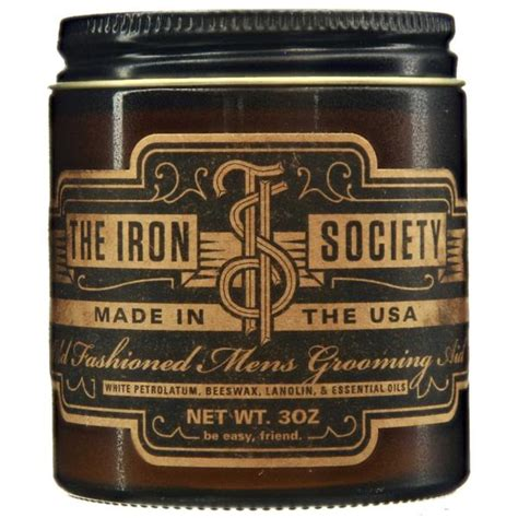 Jual Pomade Iron Society iron society fashioned grooming aid pomade based