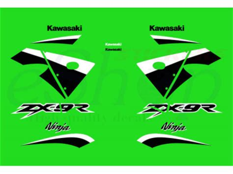 Zx9r Aufkleber Set by Zx 9r 2003 Set 2 Eshop Stickers