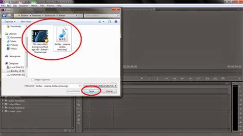 cara membuat film pendek menggunakan adobe premiere ardhy lpunderground langkah langkah membuat backsound
