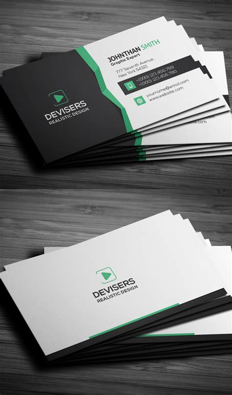 new business cards psd templates design graphic design