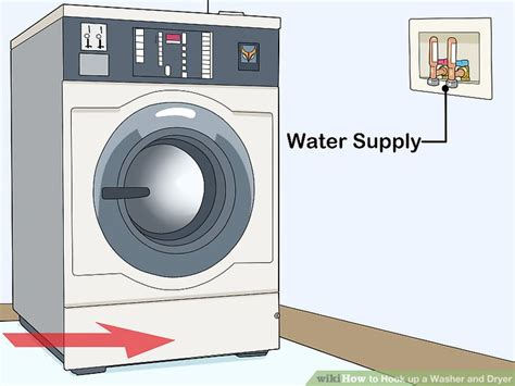 washer that hooks up to how to hook up a washer and dryer with pictures wikihow