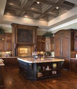 Beautiful Kitchens With Islands Beautiful Wood Kitchen Home