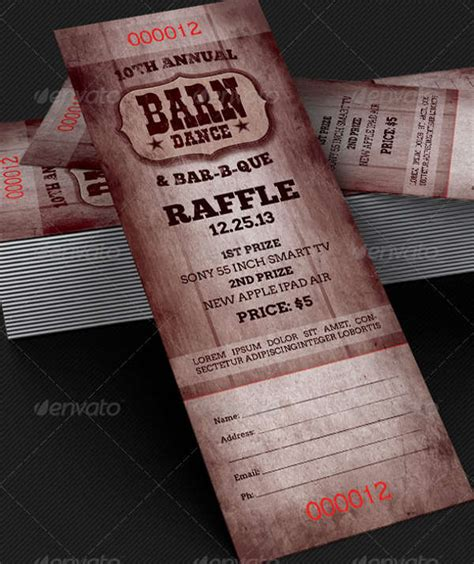 37 ticket templates download