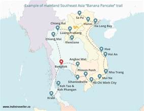 southeast asia itineraries backpacking routes