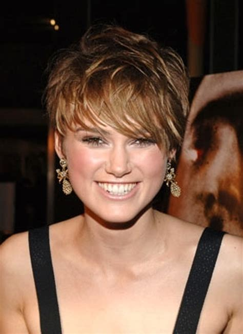 hairstyles for round face short hair short hairstyles for girls with round faces