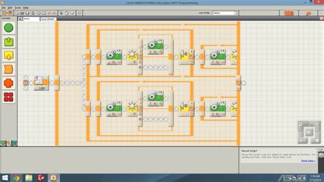 tutorial for programming the lego mindstorms nxt robot mindstorms nxt programming opposite facing