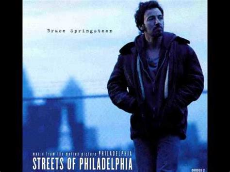 testo streets of bruce springsteen streets of philadelphia lyrics