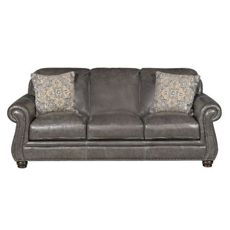 london 87 quot charcoal leather sofa decorating pinterest