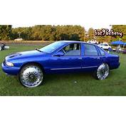 Silver 96 Impala SS On 28 DUB Rebellion Floaters 1080p HD YouTube