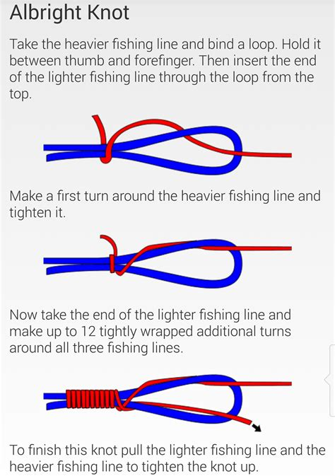 How To Make Different Knots - fishing knots cartersflcharters