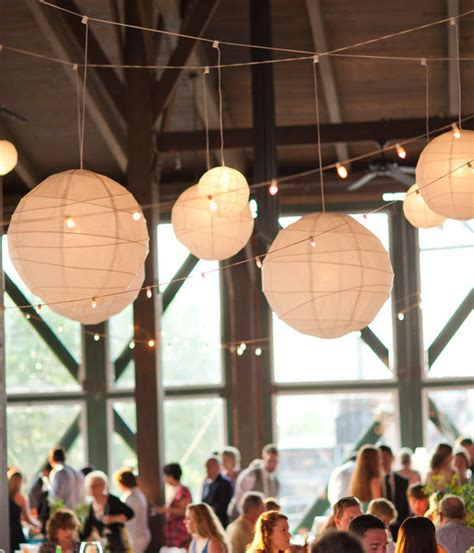 How To Make Paper Hanging Lanterns - photo of the day bridalguide