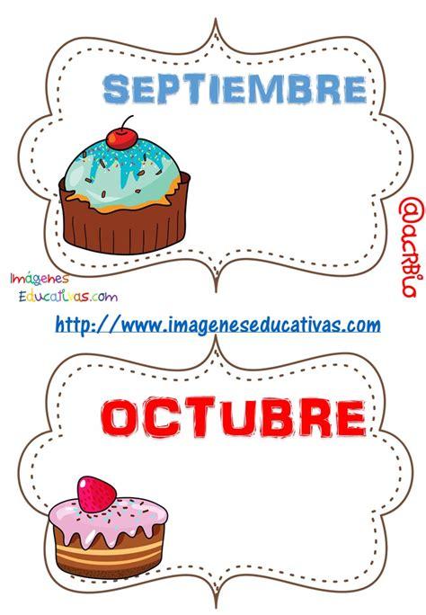 imagenes de octubre el mes de mi cumpleaños tarjetas cumplea 241 os por meses 6 imagenes educativas
