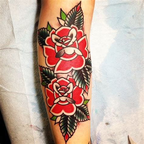 american traditional rose tattoos 180 best flower mandala tattoos images on