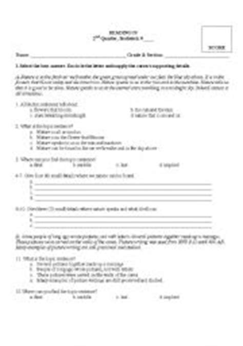 Idea And Supporting Details Worksheets by 15 Best Images Of Primary Elementary Idea Worksheets