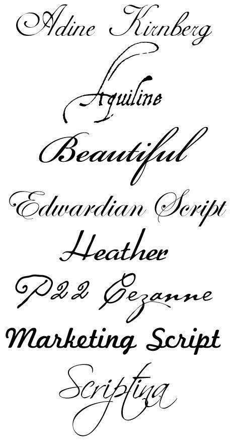 cursive tattoo fonts for men aromatherapy fonts fonts cursive beautiful fonts