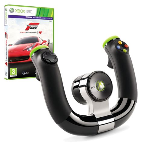 xbox 360 volante wireless volant microsoft xbox 360 wireless wheel forza 4 euronics