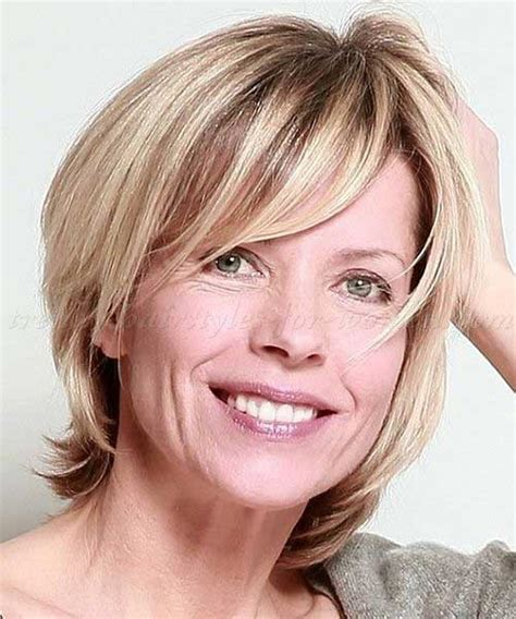 hairstyles for faces 50 thin hair short hairstyles short hairstyles for over 50 fine hair