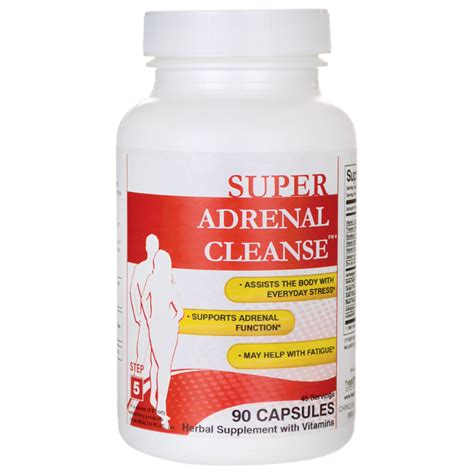 Adrenal Detox Program by Health Plus Adrenal Cleanse 90 Caps Swanson Health