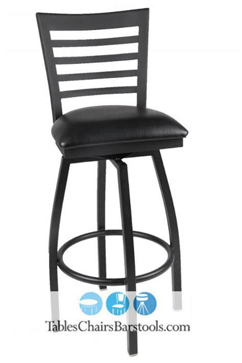 metal bar stools swivel with back gladiator full ladder back metal swivel bar stool with