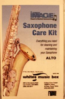 Saxophone Care Kit cleaning care