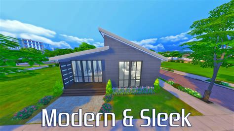 sims 4 house mystic s sims 4 house builds modern sleek the sims legacy challenge