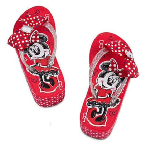 minnie mouse sandals disney store flip flops sandals for minnie mouse