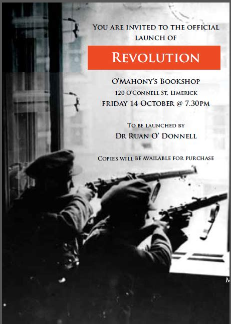 manny does revolutionary ireland 1916 1923 books book launch for quot revolution a photographic history of